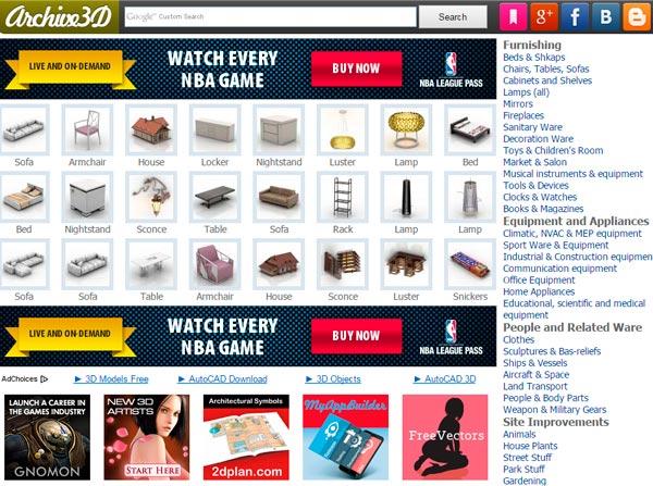 Archive 3D   archive3d.net