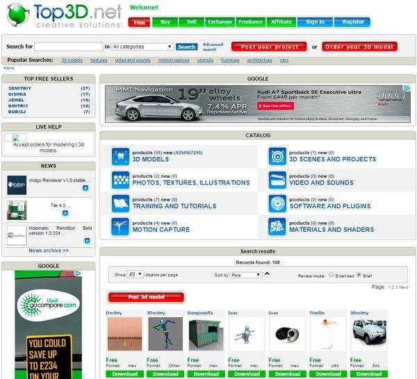 Turbo 3D   www.top3d.net